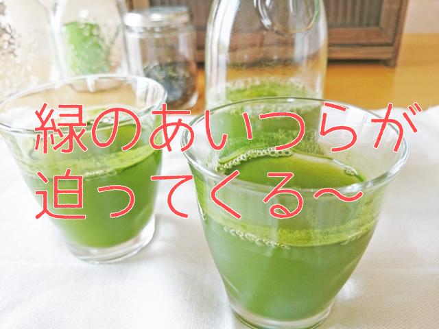 めちゃフル青汁の休止のイメージ
