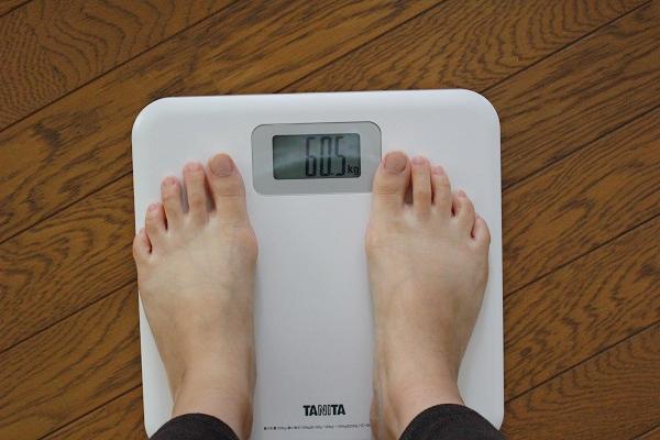 めっちゃたっぷりフルーツ青汁でダイエットする前の体重